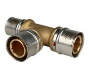 Тройник переходной 26х26х20 для металлопластиковых труб прессовой