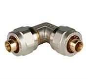 Угольник 90° 26х26 для металлопластиковых труб винтовой