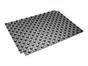 Плита для теплого пола с бобышками и пленкой,ТермоДрайв20 ,(площадь 0,88 м2 )  цвет черный