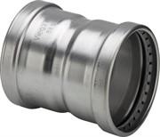 Муфта Viega пресс 108 нержавеющая сталь Sanpress Inox XL ( 482824 )