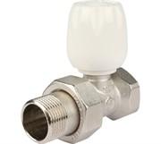 """Клапан ручной терморегулирующий с неподъемным шпинделем, прямой 3/4"""""""