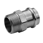 Муфта Н пресс 15 х 1/2' оцинкованная сталь