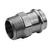 Муфта Н пресс 18 х 1/2' оцинкованная сталь