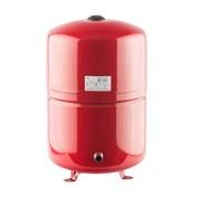 Расширительный бак на отопление 100 л. (цвет красный)