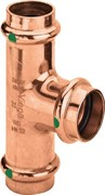 Тройник пресс Viega 18x18x15 медь Profipress SC-Contur ( 315009 )