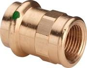 Муфта Viega пресс-В 28x1'1/4 бронза Sanpress SC-Contur ( 298104 )