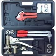 Универсальный комплект механического инструмента для труб PEX и аксиальных фитингов