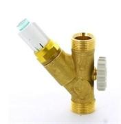 """Клапан балансировочный НН 3/4"""" SRVOL-AG с расходомером 1-8 л/мин ДУ 15"""