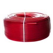 Труба из сшитого полиэтилена PEX-a, красная 16х2,0 (бухта 100 метров)