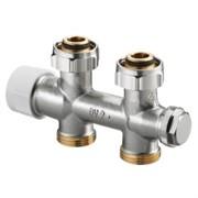 Вентиль проходной для присоединения к отопительным приборам с HP 3/4