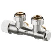 Вентиль угловой для присоединения к отопительным приборам с HP 3/4