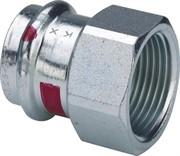 Муфта пресс-В 15х1/2' оцинкованная сталь Prestabo SC-Contur
