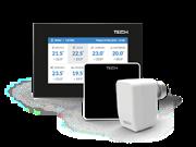 ST-16s WiFi TECH Беспроводной комнатный терморегулятор для радиаторной системы отопления
