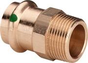 Муфта Viega пресс-Н 28x1'1/4 бронза Sanpress SC-Contur ( 297978 )