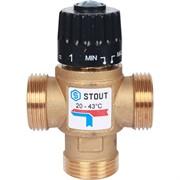 """Термостатический смесительный клапан для систем отопления и ГВС G 1"""" M"""