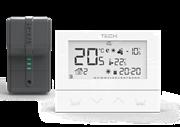 ST-292 v 2 TECH Беспроводной комнатный двухпозиционный терморегулятор, белый