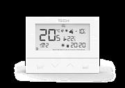 ST-292 v 3 TECH Проводной комнатный двухпозиционный терморегулятор, белый