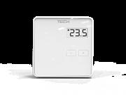 ST-294 v 1 TECH Проводной комнатный двухпозиционный терморегулятор, белый
