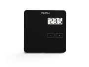 ST-294 v 1 TECH Проводной комнатный двухпозиционный терморегулятор, черный