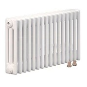 Радиатор Zehnder Charleston Completto 3057/04 нижнее подключение лев./прав., RAL 9016