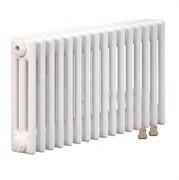 Радиатор Zehnder Charleston Completto 3057/12 нижнее подключение лев./прав., RAL 9016