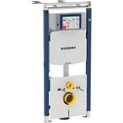 Модуль Geberit Duofix для подвесного унитаза, 112 см, бачок Sigma 12 см, звукоиз-ия, шпильки 50 см