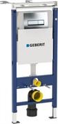Модуль Geberit Duofix для подвесного унитаза, 112 см, с бачком Delta 12 см, клавиша Delta51, хром
