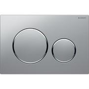 Кнопка смыва Geberit Sigma20, хром, матовый хром