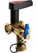 Клапан балансировочный Broen V DN25S с дренажем ручной стандартной пропускной способности резьбовой PN 25 Kvs=7,46 м3/ч,артикул 4551000S-001673 [4551000S-001673] 592466