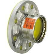 Переход фланец-пресс DN50x64 нержавеющая сталь Sanpress Inox
