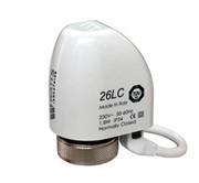 Термоэлектрический сервопривод Watts, 26LC230NC2, 230 В, нормально закрытый, M30X1,5 ( компактный )