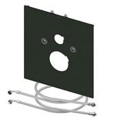 Нижняя стеклянная панель для унитазов TECEone, стекло черное