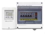 Контроллер SmartWeb L в боксе с комплектом АЗС и 3 погружными датчиками
