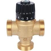 """Термостатический смесительный клапан для систем отопления и ГВС 1"""" НР 30-65°С KV 1,8"""