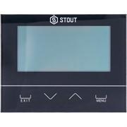 STE-0101-029232 STOUT Проводной комнатный двухпозиционный регулятор ST-292v3, черный