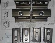 Комплект крепления Set CVD (4xCVD1/BH), TechnoLine