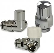 Luxor KT 269/A Термостатический комплект 1/2-3/4 EK угловой правосторонний (RCD269/A+DCS33/A+TT3000C), хром