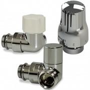 Luxor KT 273/A Термостатический комплект 1/2-3/4 EK угловой левосторонний (RCS273/A+DCD29/A+TT3000C), хром 14792703LUX