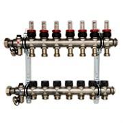 Распределительный коллектор Oventrop Multidis SF 7, с ротаметрами ( 1404357 )