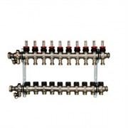 Распределительный коллектор Oventrop Multidis SF 9, с ротаметрами ( 1404359 )