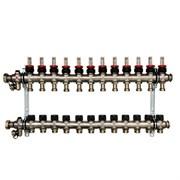 Распределительный коллектор Oventrop Multidis SF 12, с ротаметрами ( 1404362 )
