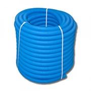 Труба защитная гофрированная UNI-FITT28 синяя (для труб 20) 583B2807 бухта 75 метров