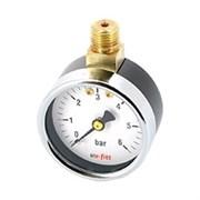 """UNI-FITT Манометр радиальный UNI-FITT 6 бар, диаметр 50 мм, 1/4""""Н, верхнее подключение ( 302P2020 )"""