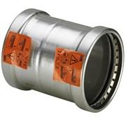 Муфта Viega пресс 108 надвижная нержавеющая сталь Sanpress Inox ( 482855 )