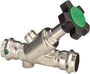 Вентиль CRV ДУ 40 Easytop Inox с обратным клапаном пресс 42 c SC-Contur, нерж. сталь , м.2338,5