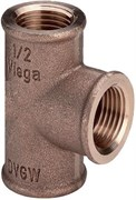 VIEGA Тройник VIEGA В 2'x2'x2' бронза ( 264321 )