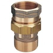 VIEGA Разъемное соединение VIEGA НВ 3/4' с плоским уплотнением, бронза (Сгон) ( 271367 )