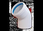 BAXI Отвод 45° d=80 алюминиевый, эмалированный BAXI ( KHG71401811 ) ( KHG714018110 )