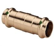 Муфта VIEGA пресс 15 надвижная бронза Sanpress SC-Contur ( 119485 )