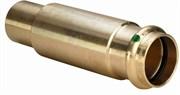 Муфта VIEGA пресс 22 надвижная со вставкой бронза Sanpress XL SC-Contur ( 588533 )